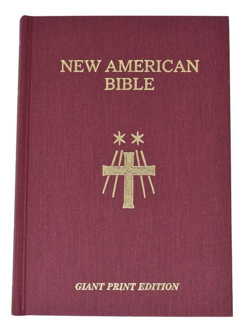 Saint Joseph Giant Print Bible-NABRE als Buch
