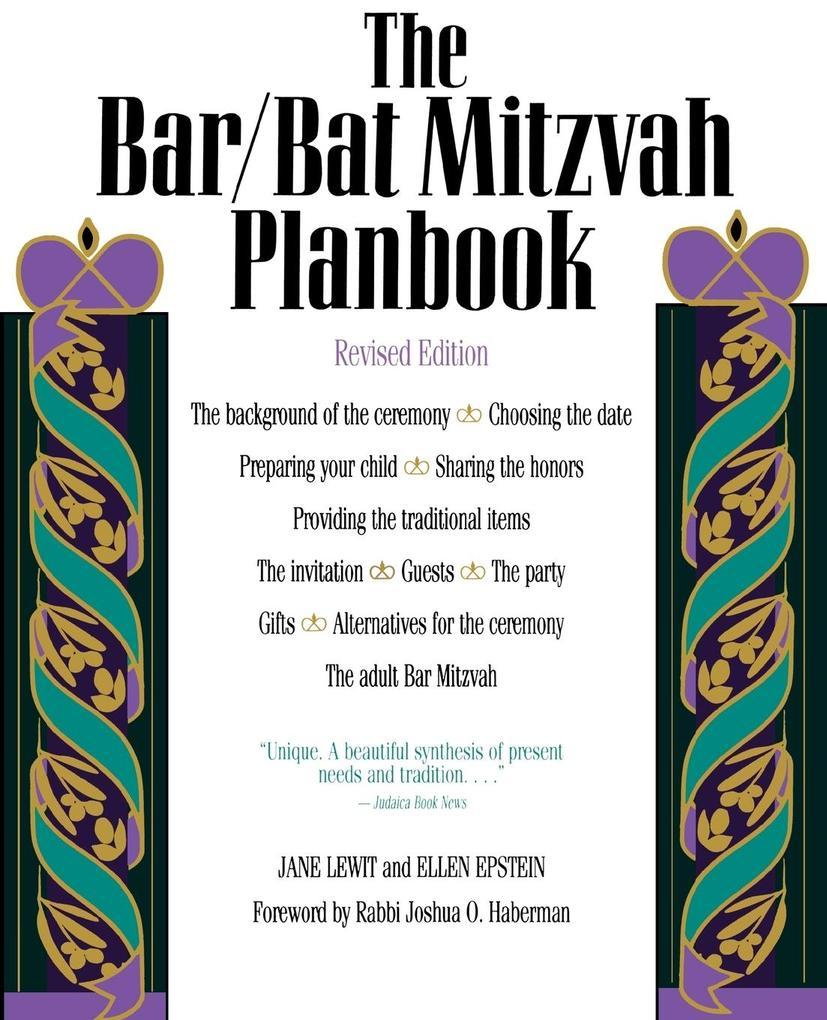 The Bar/Bat Mitzvah Planbook, Revised Edition als Taschenbuch