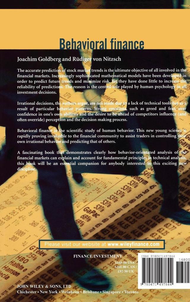 Behavioral Finance als Buch (gebunden)