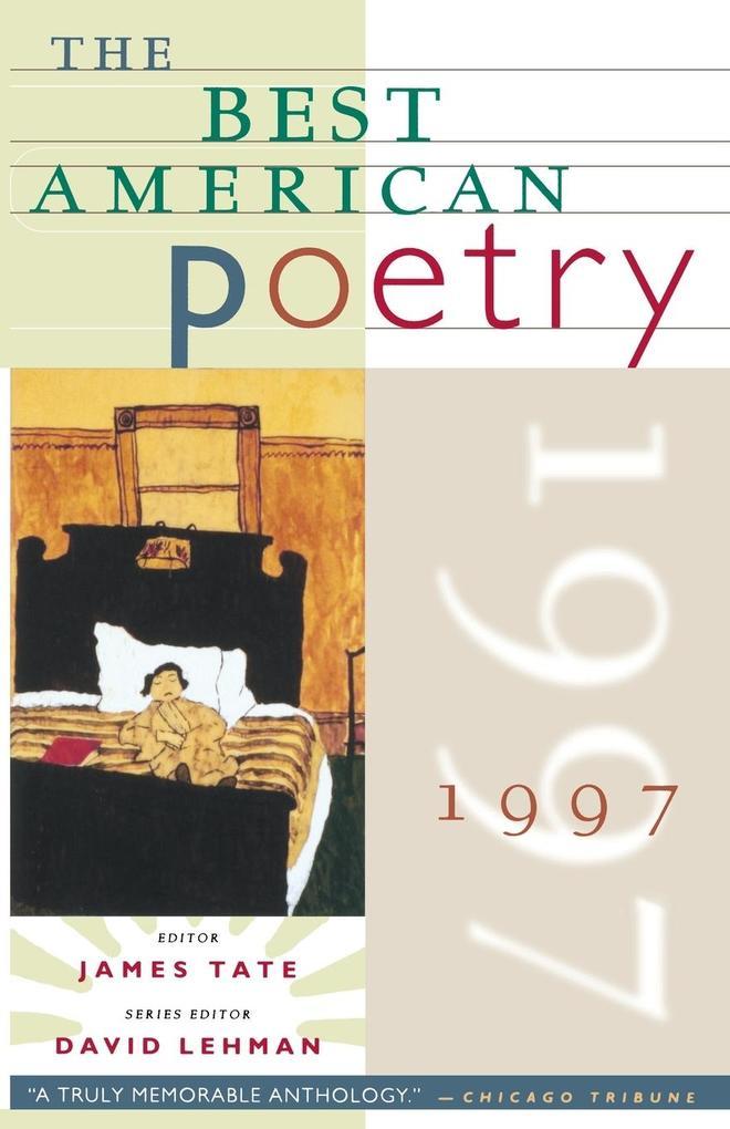 The Best American Poetry 1997 als Taschenbuch