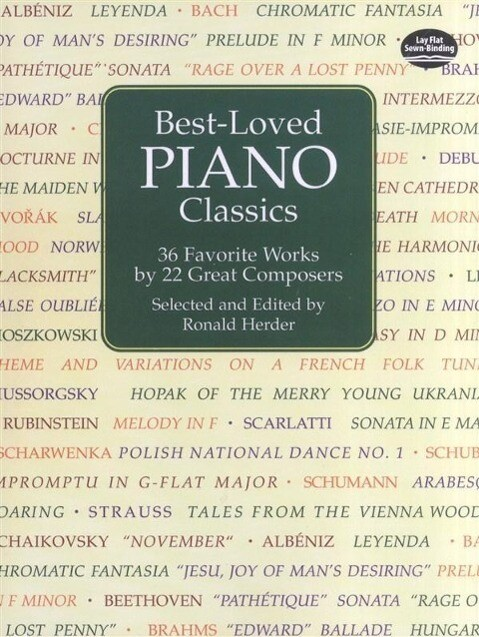 Best-Loved Piano Classics: 36 Favorite Works by 21 Great Composers als Taschenbuch