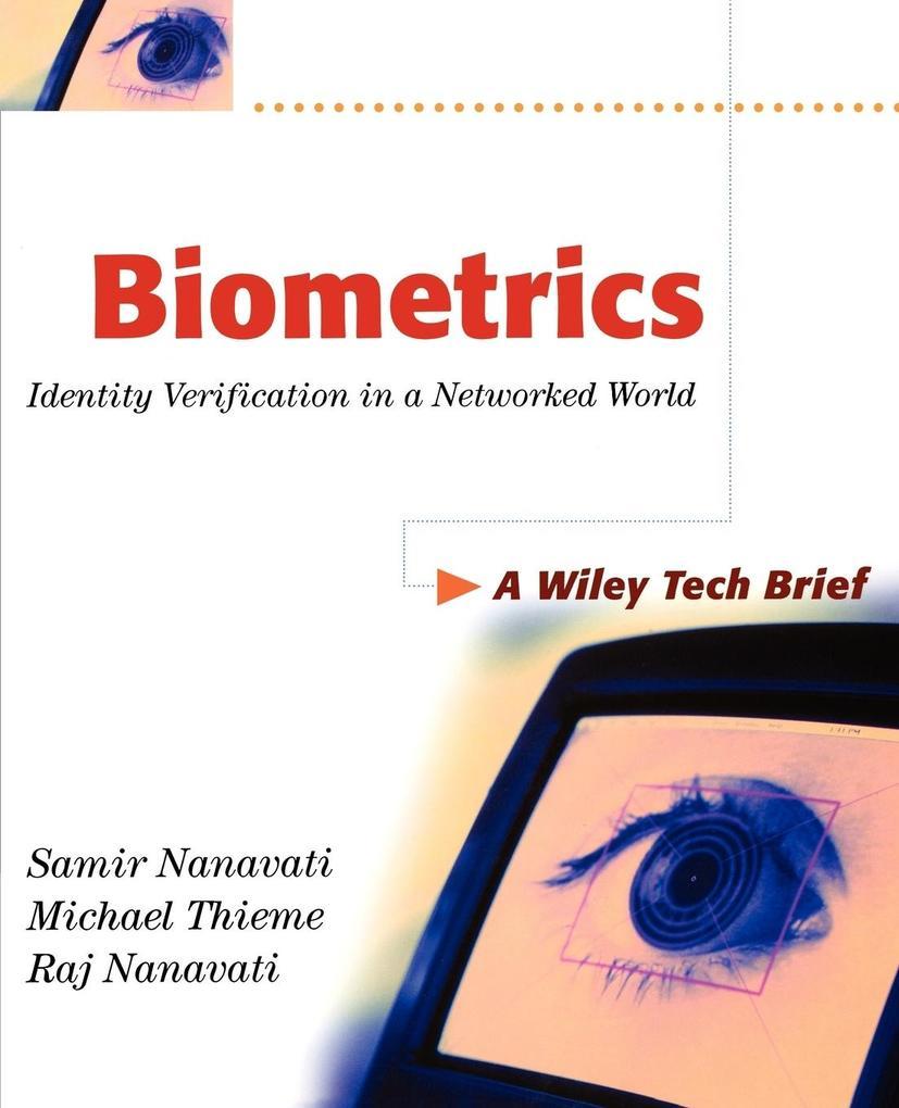 Biometrics als Buch (kartoniert)