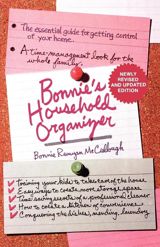 Bonnie's Household Organizer als Taschenbuch