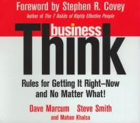 Businessthink: Rules for Getting It Right - Now and No Matter What! als Hörbuch CD