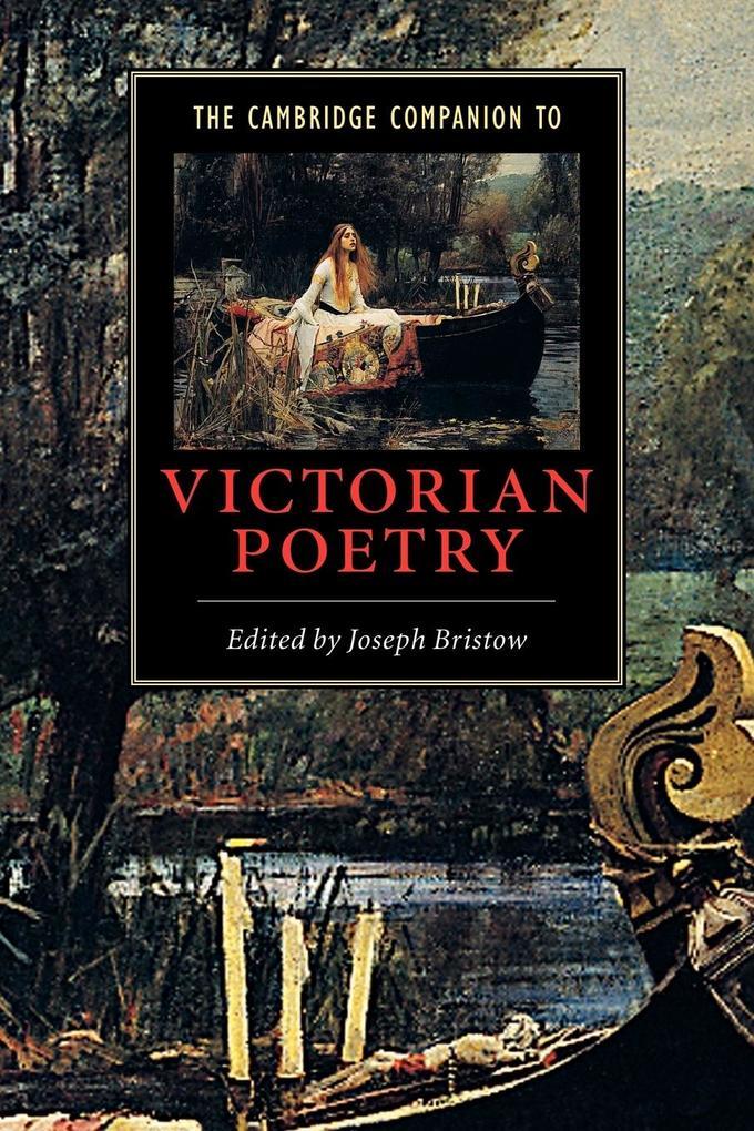 The Cambridge Companion to Victorian Poetry als Buch (kartoniert)