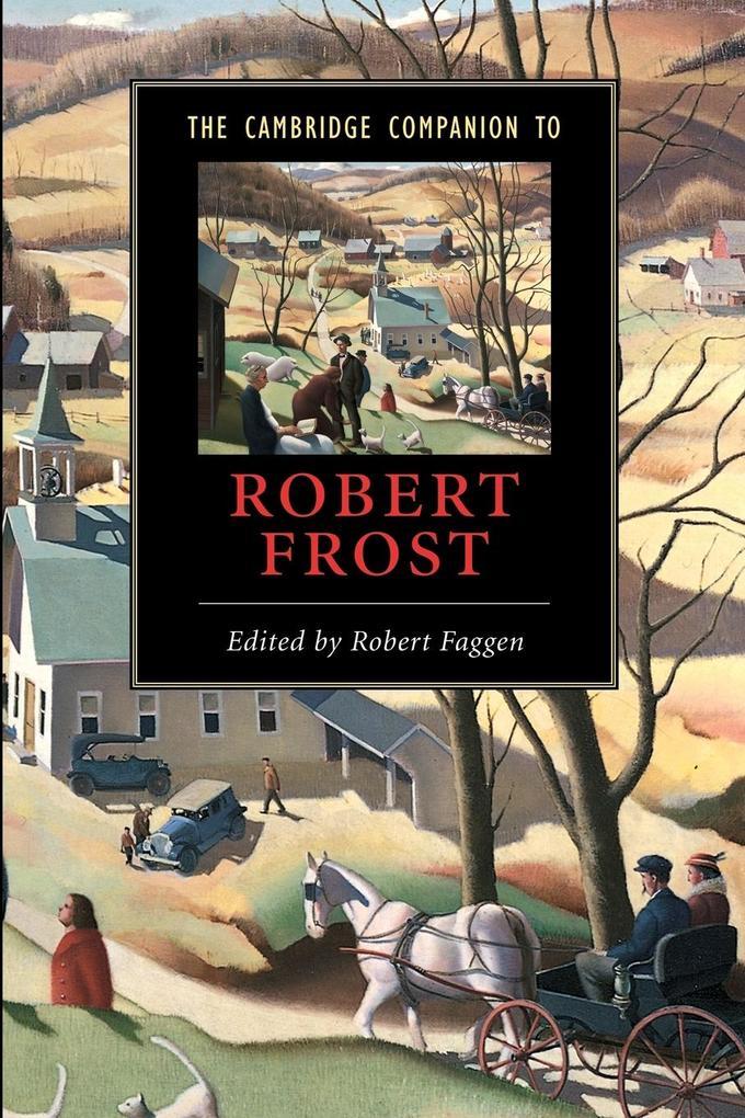 The Cambridge Companion to Robert Frost als Buch (kartoniert)