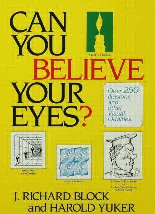 Can You Believe Your Eyes? als Buch (gebunden)
