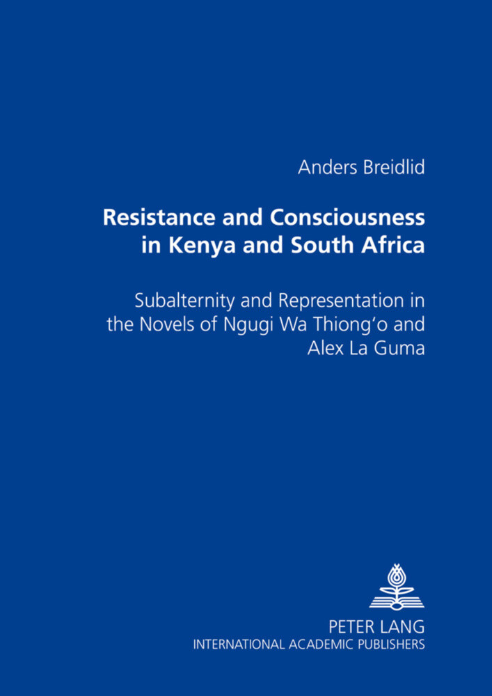 Resistance and Consciousness in Kenya and South Africa als Buch (kartoniert)