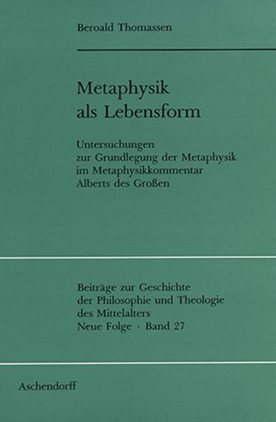 Metaphysik als Lebensform als Buch (kartoniert)