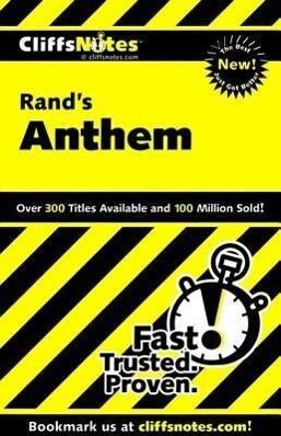 Cliffsnotes on Rand's Anthem als Taschenbuch