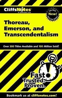 Thoreau, Emerson, and Transcendentalism als Taschenbuch