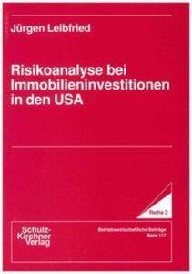 Risikonanalyse bei Immobilieninvestitionen in den USA als Buch (gebunden)