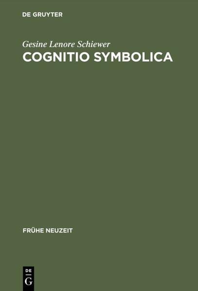 Cognitio symbolica als Buch (gebunden)