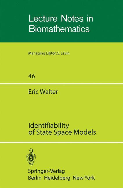Identifiability of State Space Models als Buch (kartoniert)