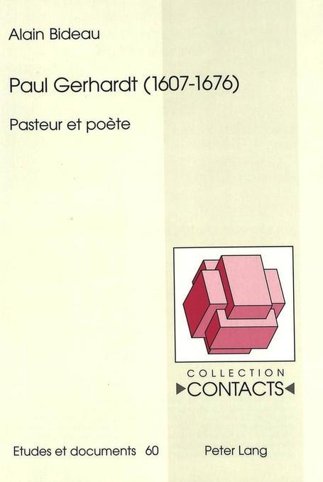 Paul Gerhardt (1607-1676) als Buch (kartoniert)