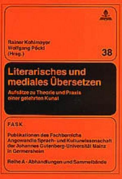 Literarisches und mediales Übersetzen als Buch (kartoniert)