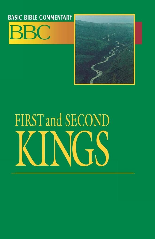 Basic Bible Commentary Volume 6 First and Second Kings als Taschenbuch