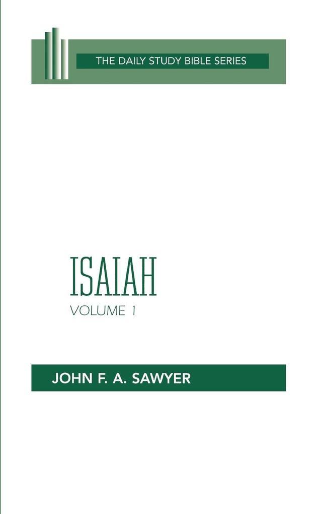 Isaiah Vol 1 (Dsb) als Taschenbuch