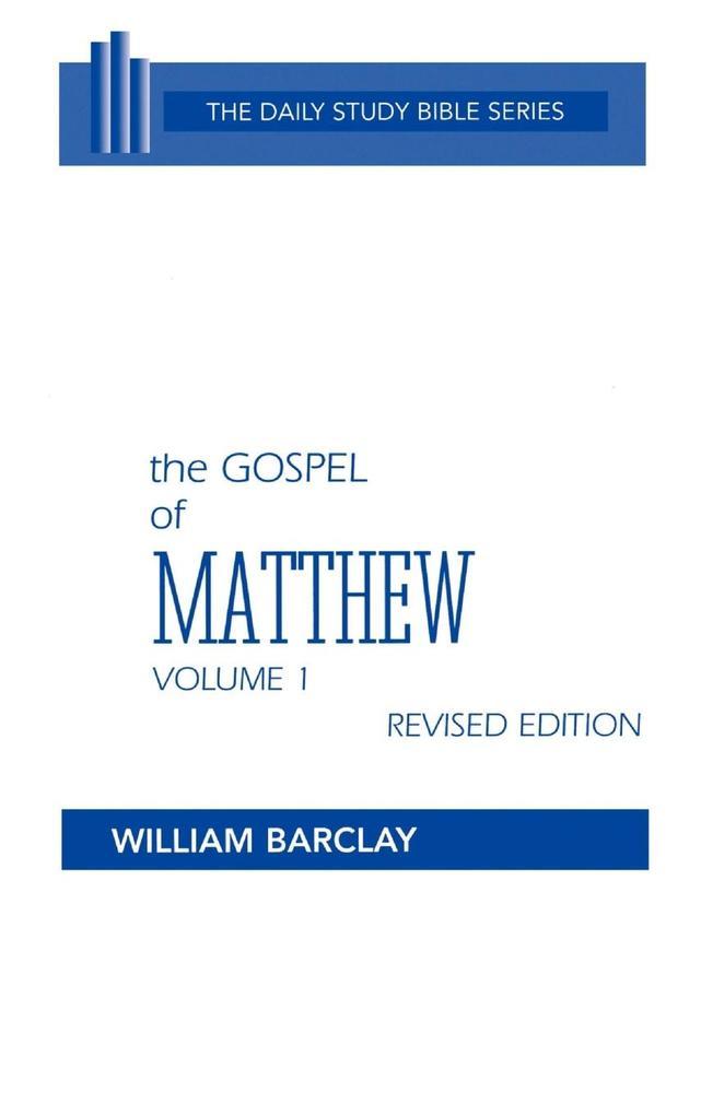 The Gospel of Matthew als Buch (gebunden)