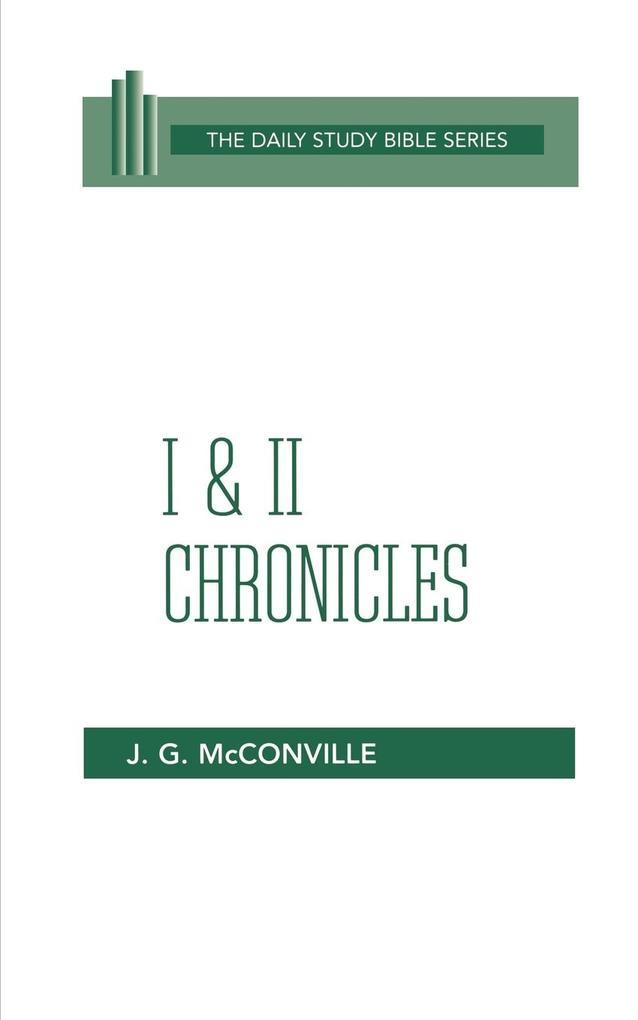 First and Second Chronicles Dsb OT als Buch (kartoniert)