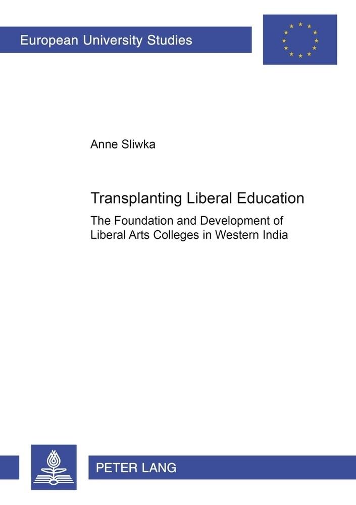Transplanting Liberal Education als Buch (kartoniert)