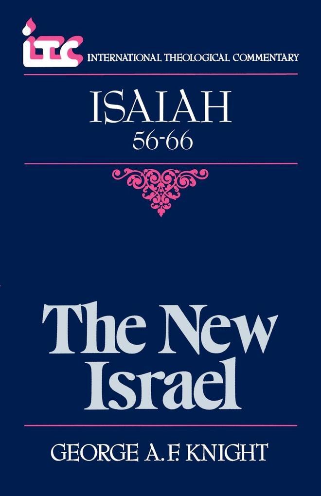 The New Israel als Taschenbuch