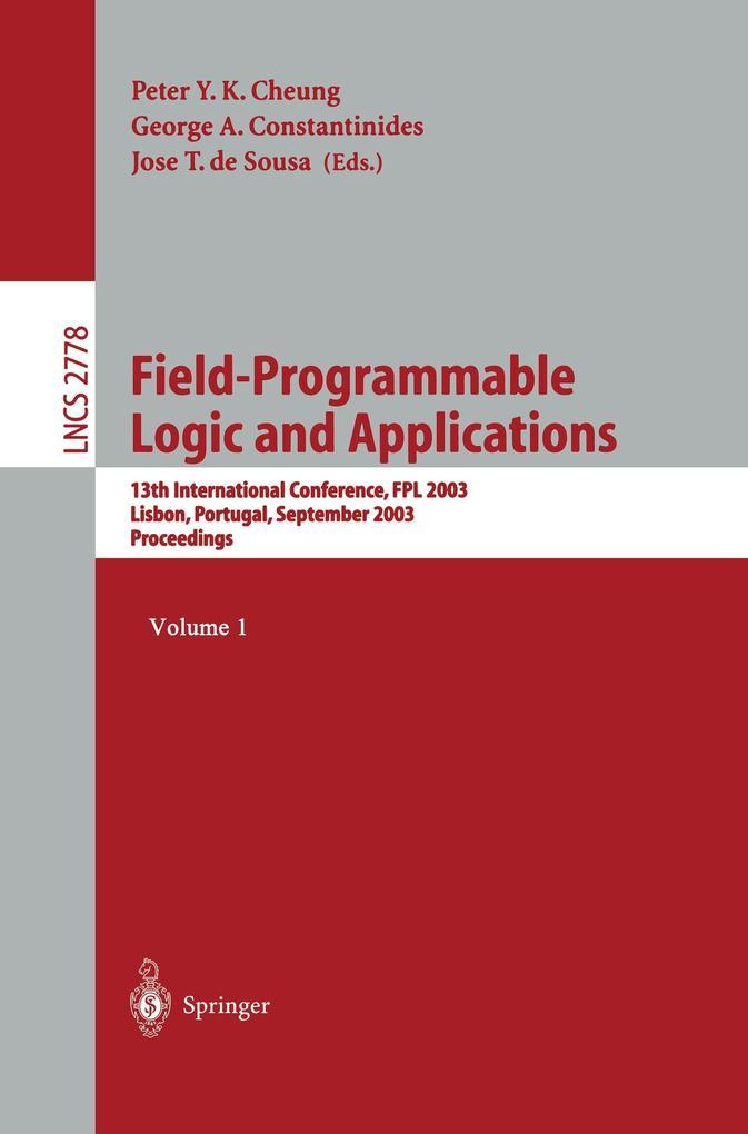 Field Programmable Logic and Applications als Buch (kartoniert)