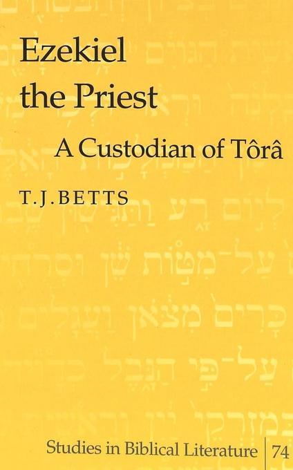 Ezekiel the Priest als Buch (gebunden)