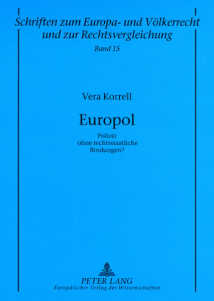 Europol als Buch (kartoniert)