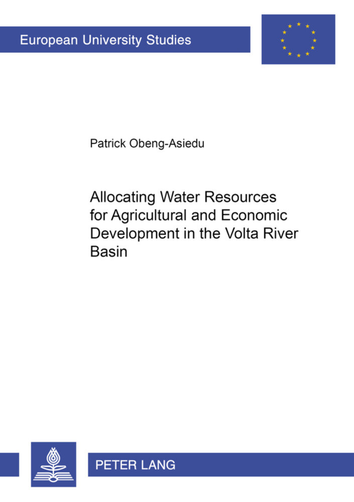 Allocating Water Resources for Agricultural and Economic Development in the Volta River Basin als Buch (kartoniert)