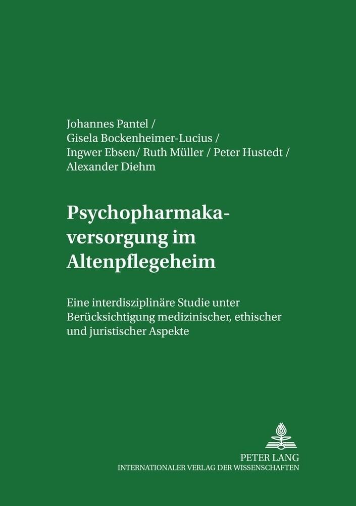 Psychopharmakaversorgung im Altenpflegeheim als Buch (kartoniert)