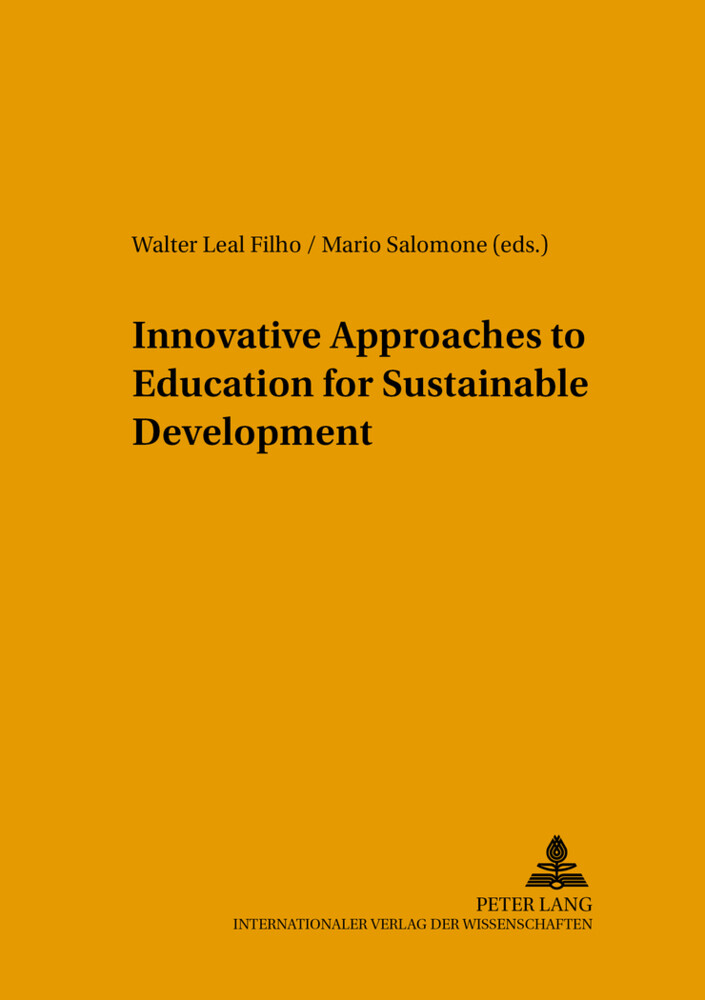 Innovative Approaches to Education for Sustainable Development als Buch (gebunden)