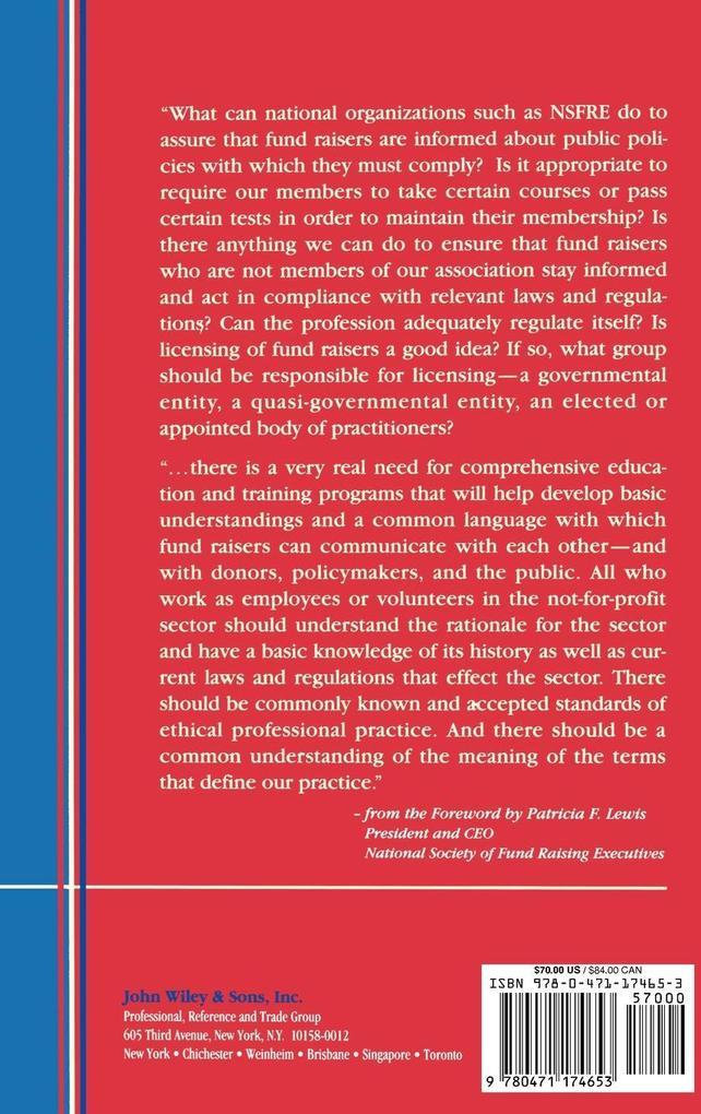 Critical Issues in Fund Raising (Afp/Wiley Fund Development Series) als Buch (gebunden)