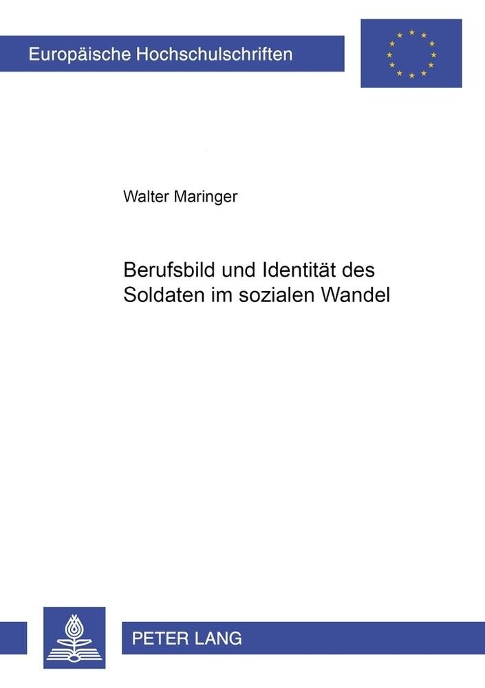 Berufsbild und Identität des Soldaten im sozialen Wandel als Buch (kartoniert)