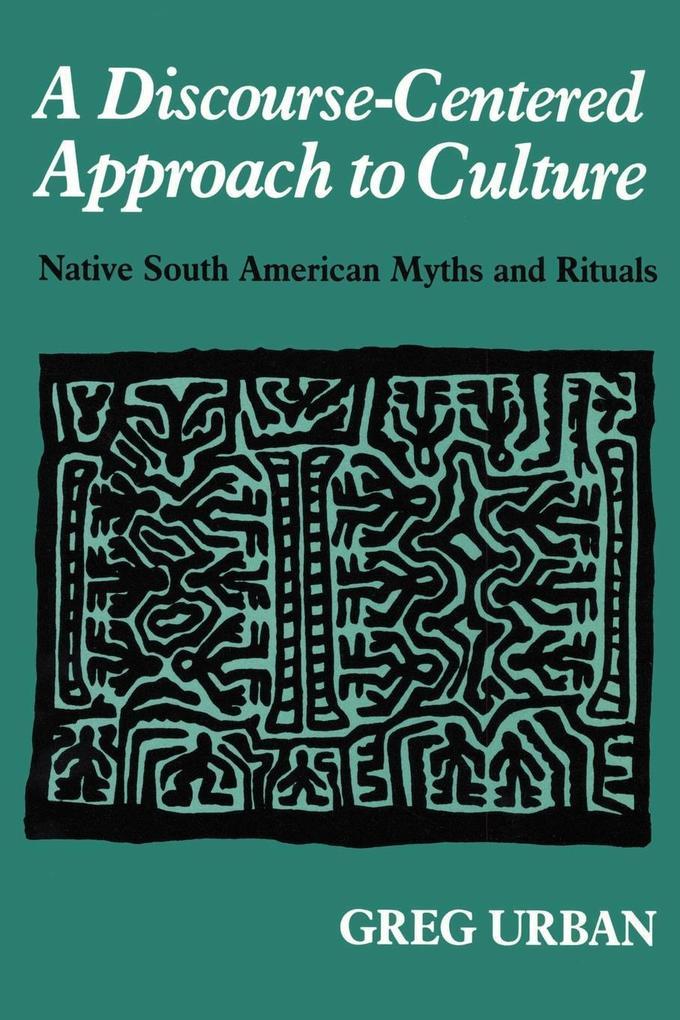 A Discourse-Centered Approach to Culture als Taschenbuch