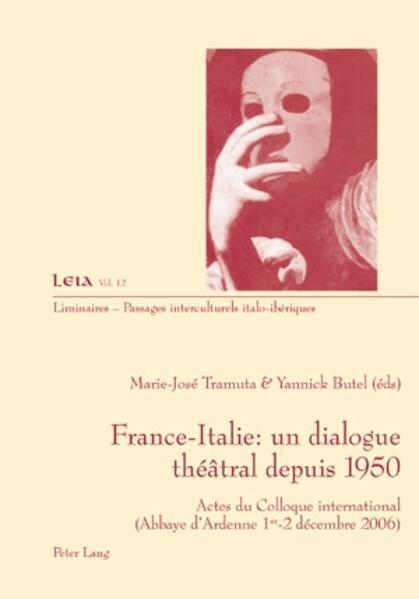 France-Italie : un dialogue théâtral depuis 1950 als Buch (kartoniert)