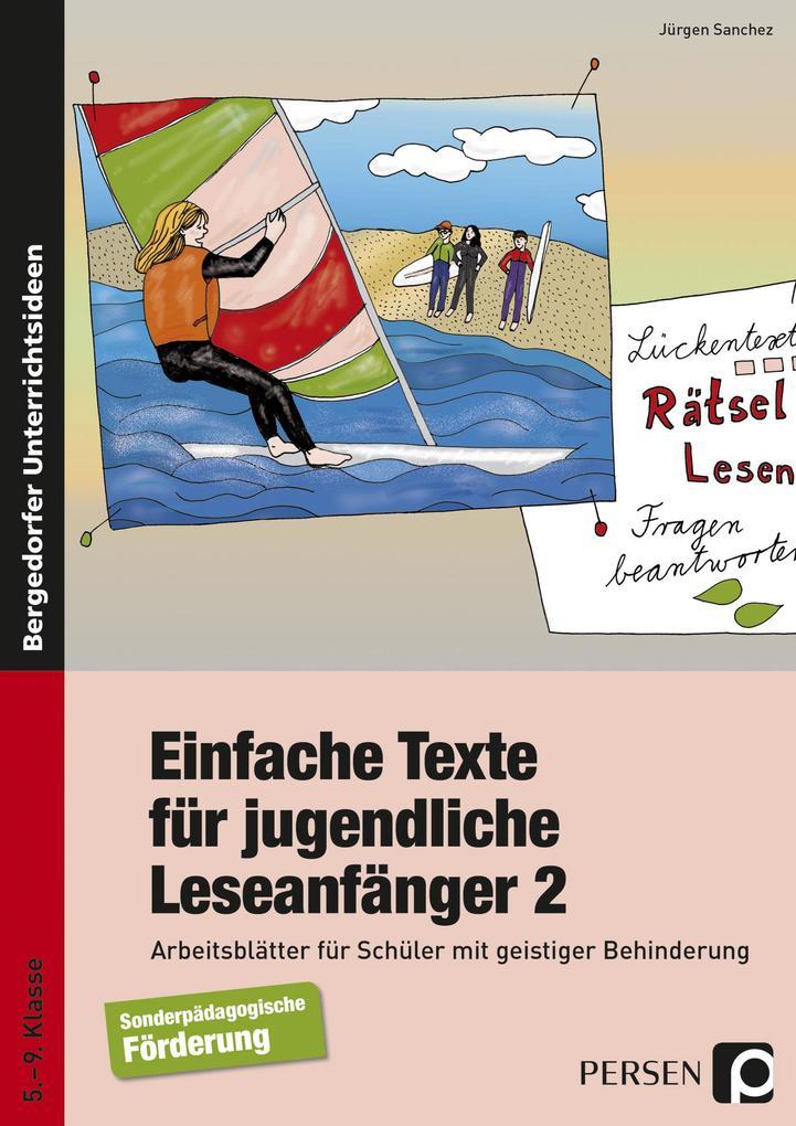 Einfache Texte für jugendliche Leseanfänger 2 als Buch (kartoniert)