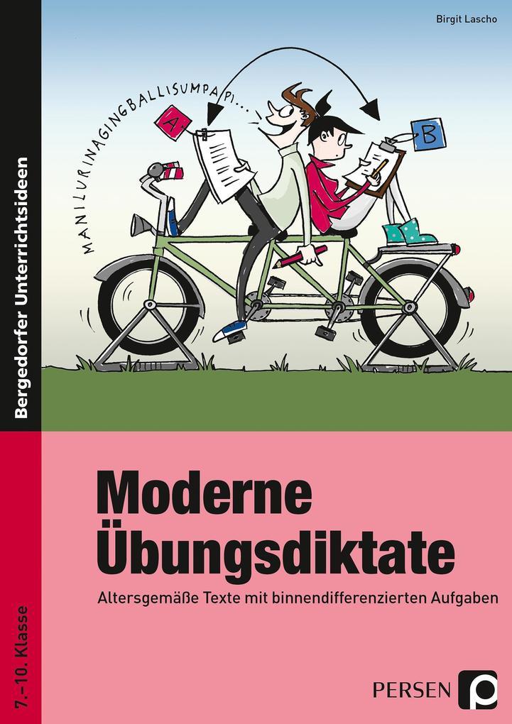 Moderne Übungsdiktate als Buch (kartoniert)