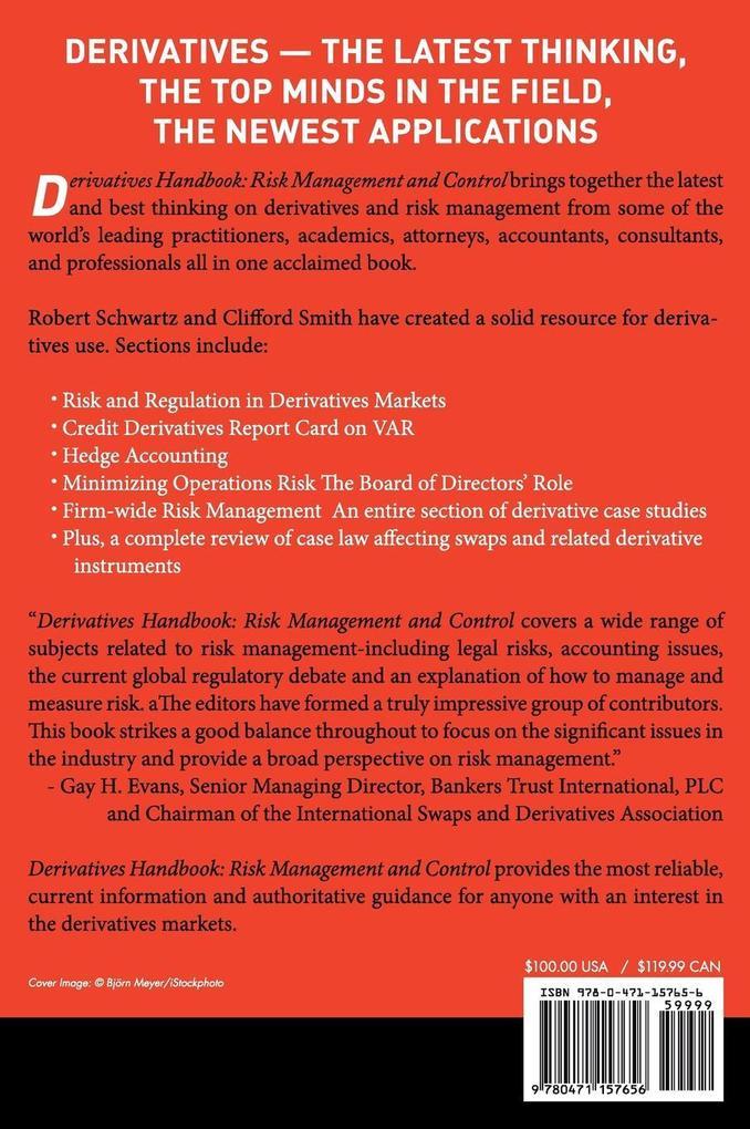 Derivatives Handbook als Buch (gebunden)