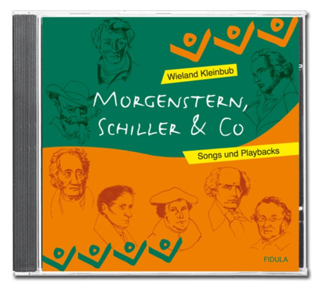Morgenstern, Schiller & Co. - CD als Hörbuch CD