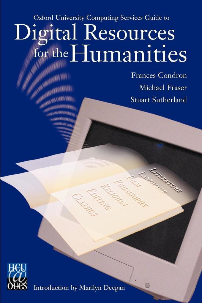 Digital Resources for the Humanities als Taschenbuch