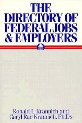 The Directory of Federal Jobs & Employers als Taschenbuch
