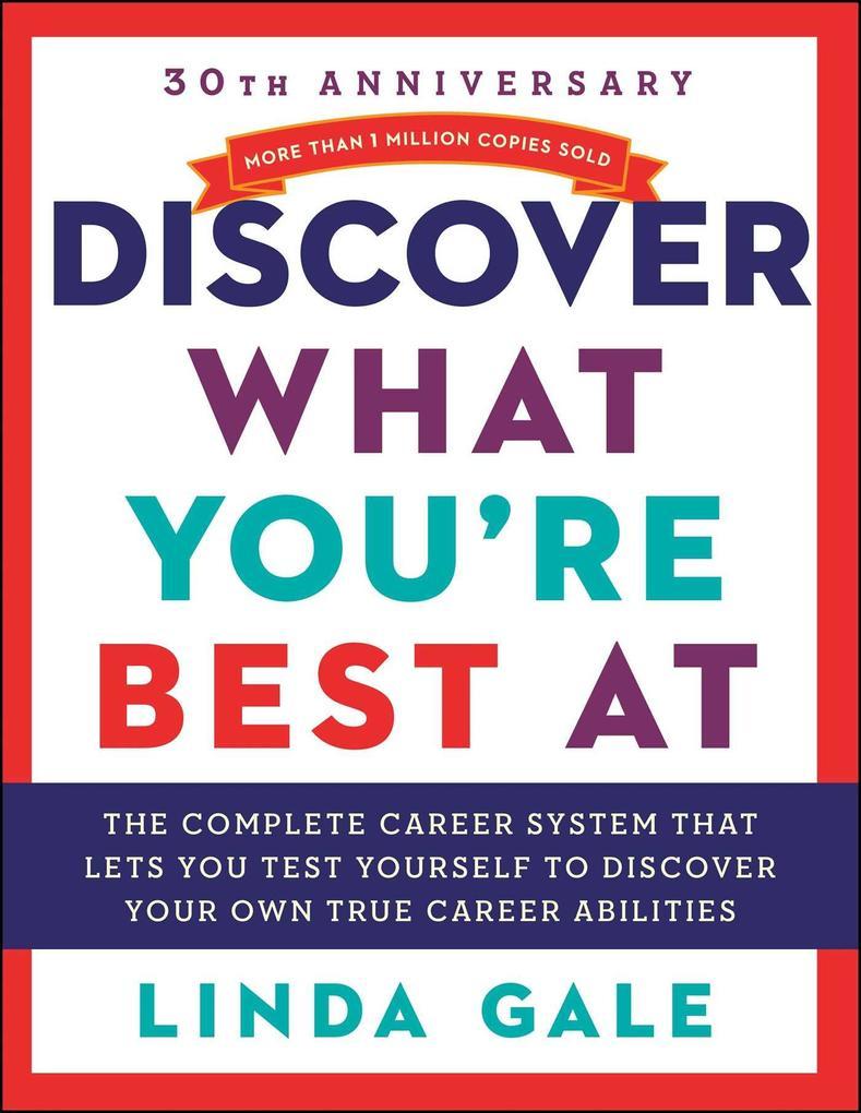 Discover What You're Best At als Taschenbuch