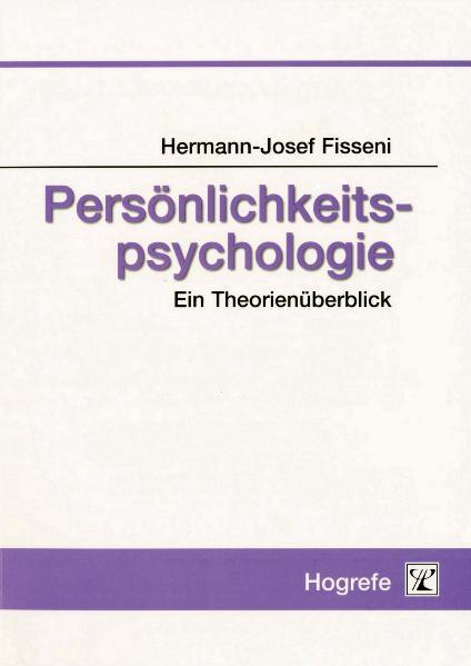 Persönlichkeitspsychologie als eBook pdf