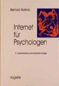 Internet für Psychologen als eBook pdf
