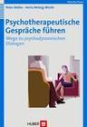 Psychotherapeutische Gespräche führen