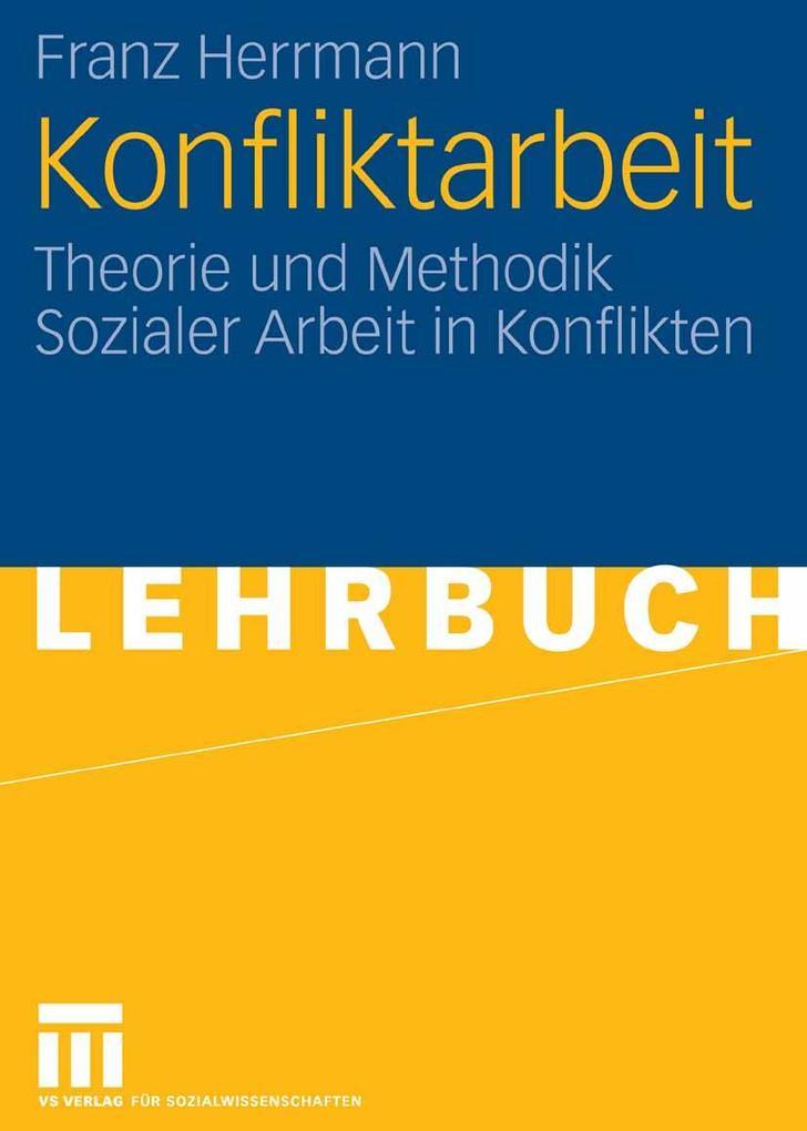Konfliktarbeit als eBook pdf
