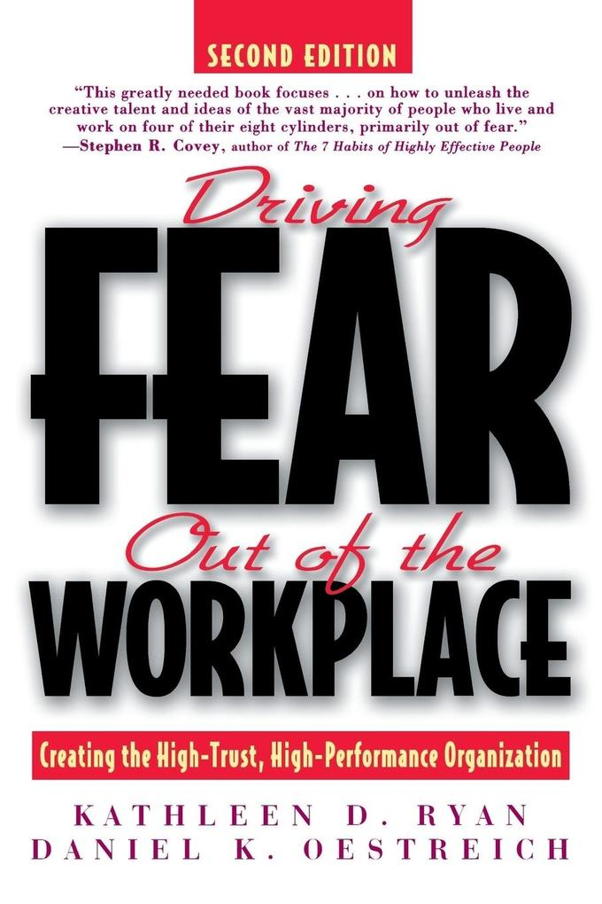 Driving Fear Out of the Workplace als Taschenbuch