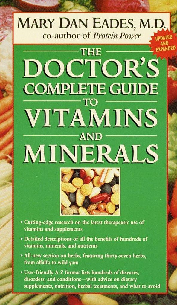 Doctor's Comp Guide To Vitamins als Taschenbuch