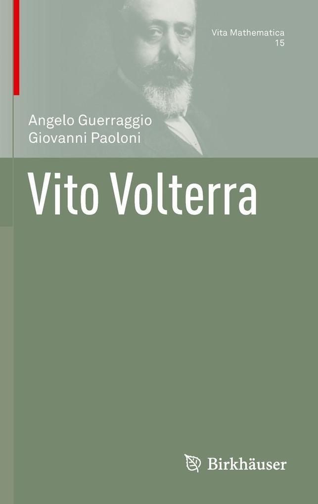 Vito Volterra als eBook pdf